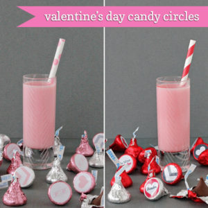 Free Valetine's Day Candy Circles | 505-design.com