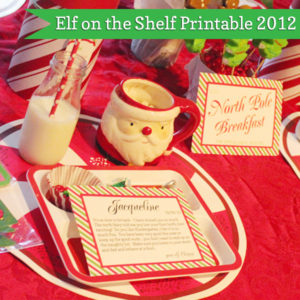 Elf on the Shelf Printables | 505-design.com