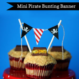 Mini Pirate Bunting Banner | 505-design.com