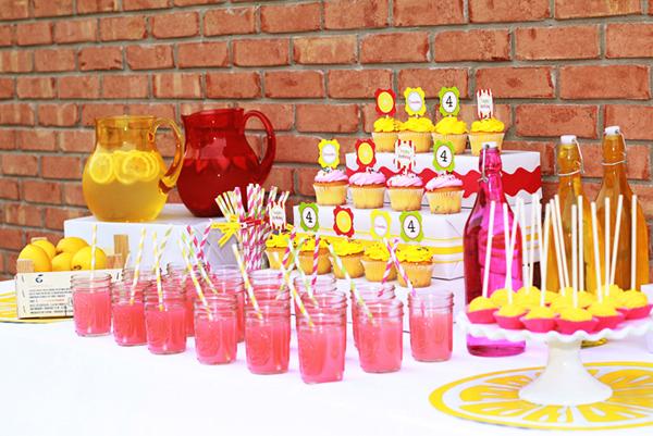Lemonade Tabela Sobremesa Partido