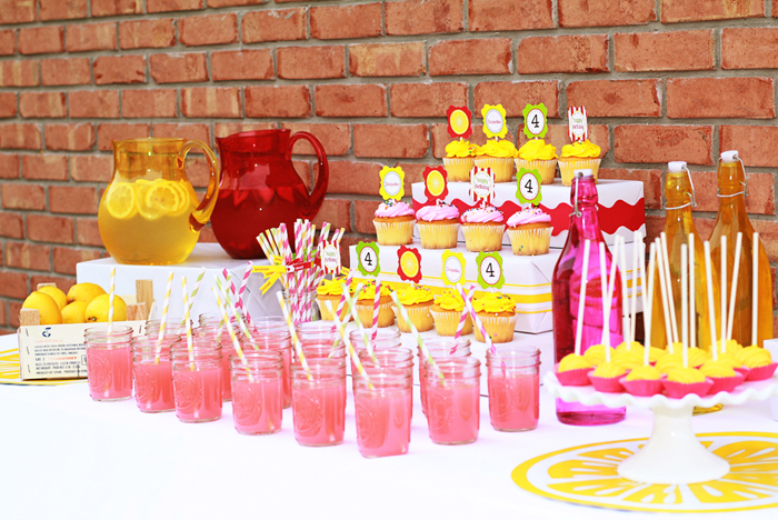 Lemonade Party {as featured on Amy Atlas}