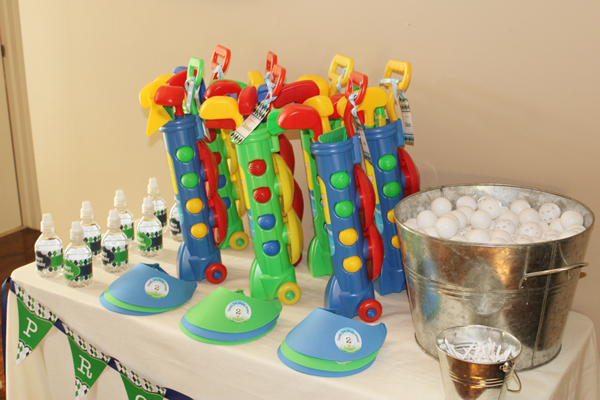 Golf Birthday Party Favors by 505-design.com