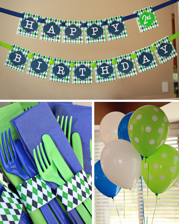 Golf Party Printables