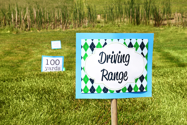Golf Party - Driving Range