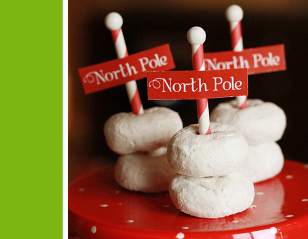 North Pole Snow Mounds