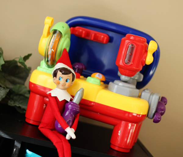 Elf on the Shelf Idea - Fixing Something