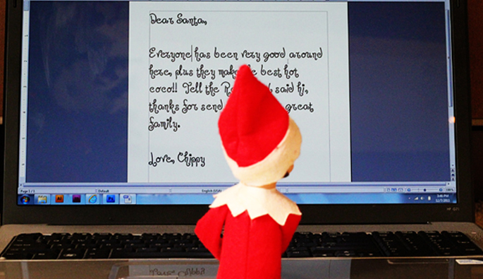 Elf on the Shelf Ideas Part 1