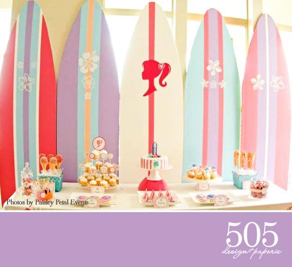 Barbie Party Dessert Table