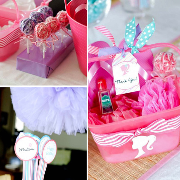 Barbie Party Favors