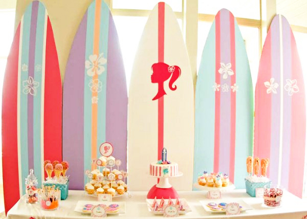 Barbie Surfing Party