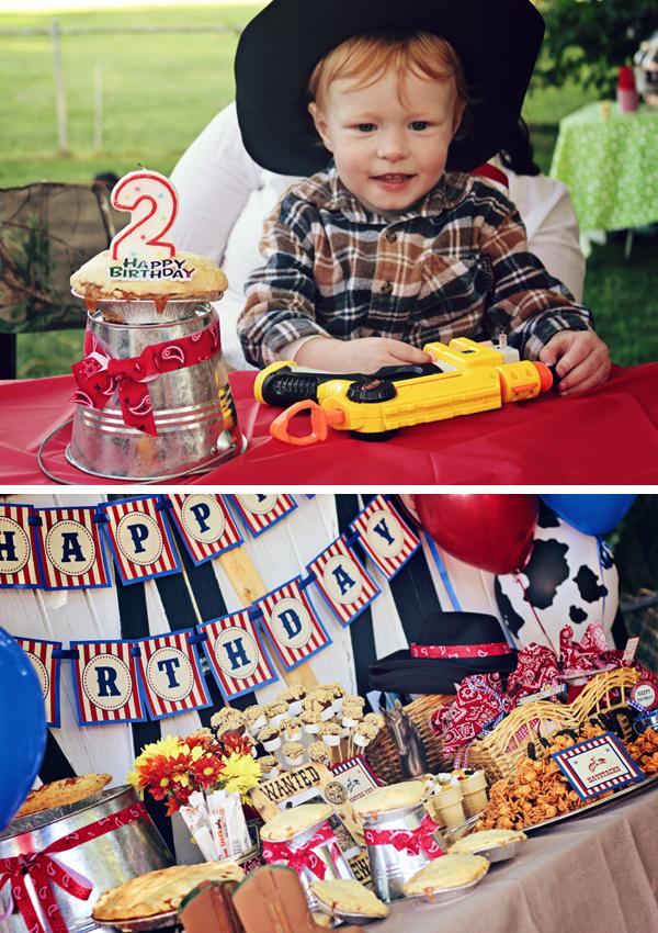 Western Cowboy Birthday