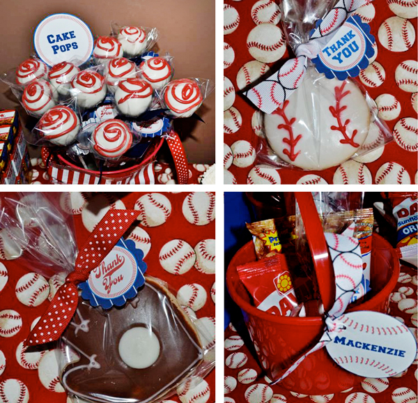 Baseball Cake Pops & Cookies