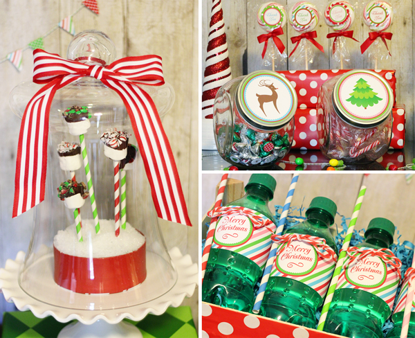 Christmas Party Printable | 505-design.com