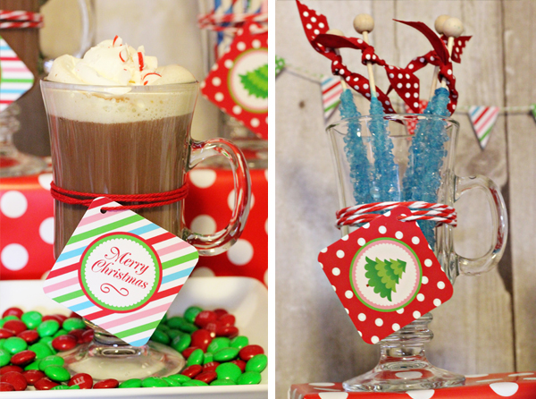 Christmas Party Hot Chocolate | 505-design.com