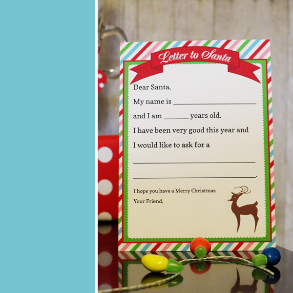 Letter to Santa | 505-design.com