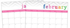 Free 2013 Calendar {with editable text areas}