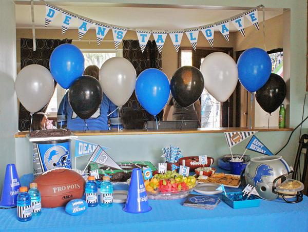 Football Party | www.505-design.com