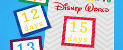 Disney World Countdown Calendar | 505-design.com