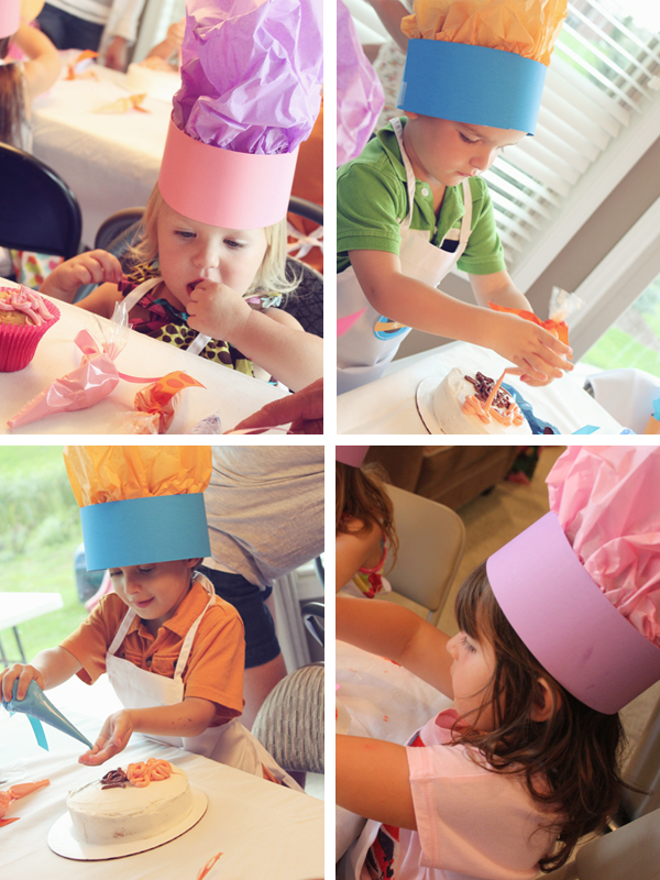 Baking Party Chef Hats | by 505-design.com