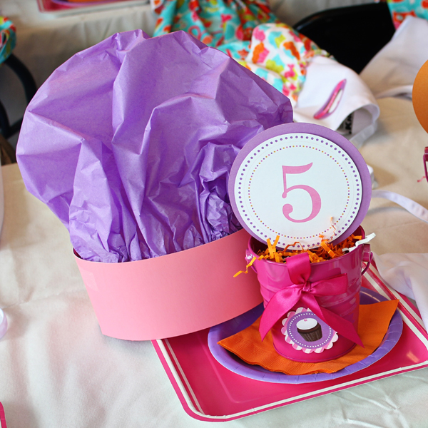 Baking Party Chef Hat | www.505-design.com