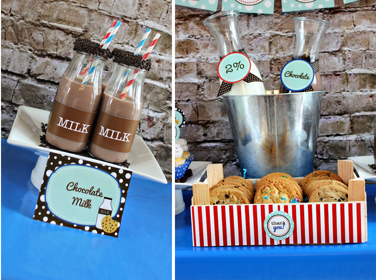 Milk & Cookie Party by 505-design.com