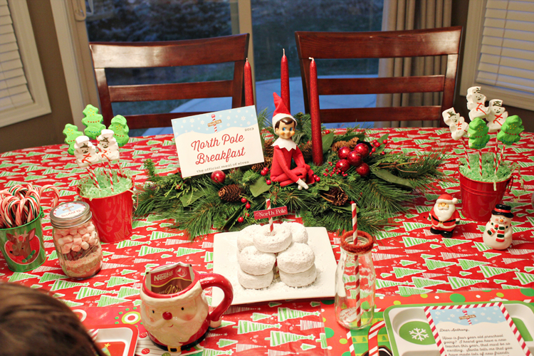 Elf on the Shelf Breakfast by 505-design.com