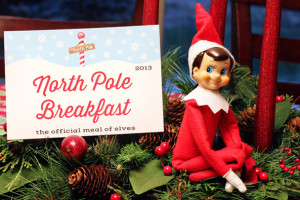 Elf on the Shelf North Pole Breakfast – 2013