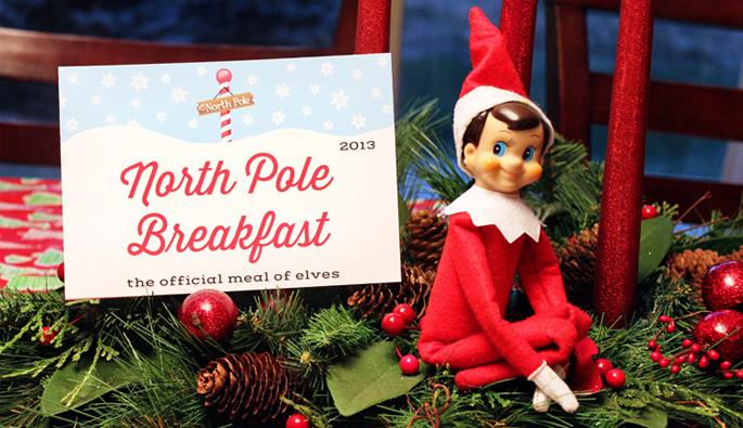 Elf on the Shelf Breakfast by 505-design.com