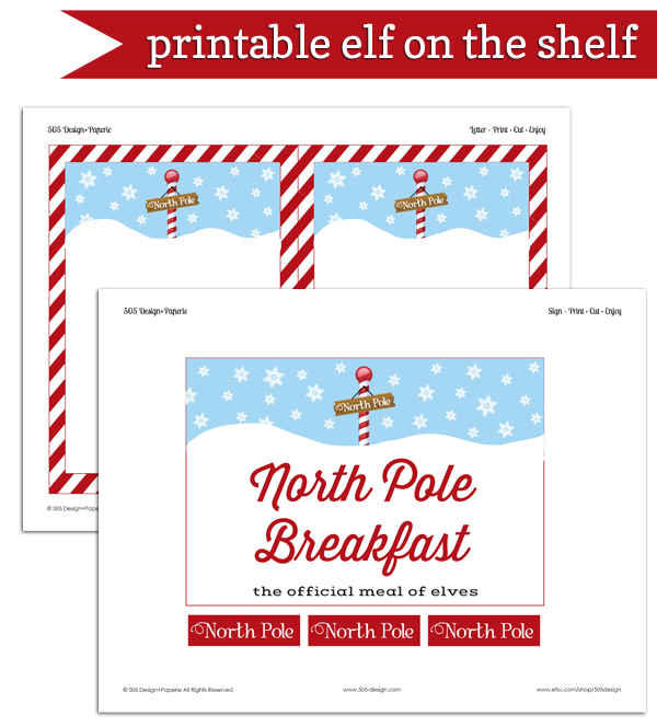 Elf on the Shelf North Pole Breakfast – 2013 — 505 Design, Inc