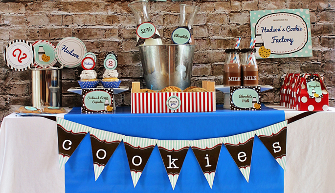 Cookie and Milk Party by 505-design.com