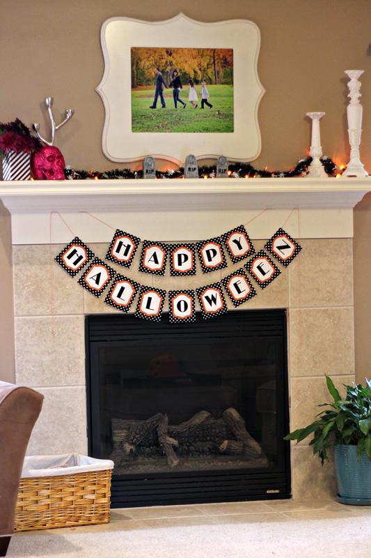 Free Printable Halloween Decor | 505-design.com