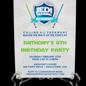 Jedi Invitation