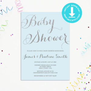 blue-silver-baby-shower