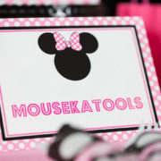 Minnie Mouse Mousekatools Sign