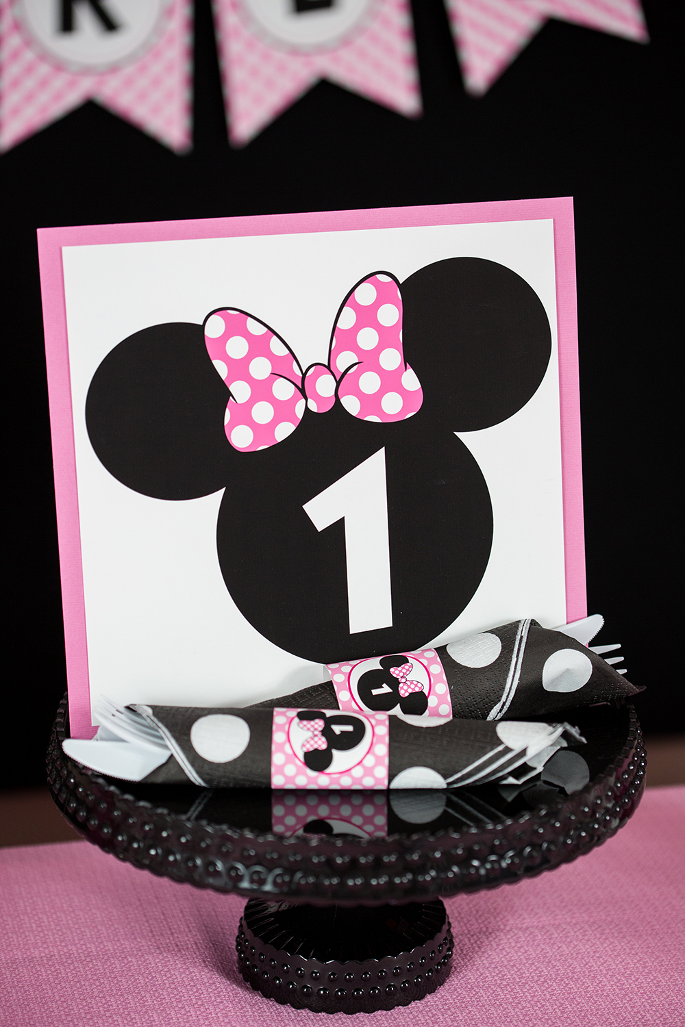 Pink Minnie Mouse Birthday Party Directions 505 Design Inc