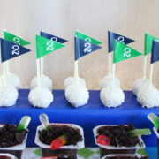 Golf Party Flags