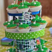 Golf Party CupcakeToppers