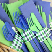 Golf Party Napkin Rings