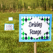 Driving Range Sign