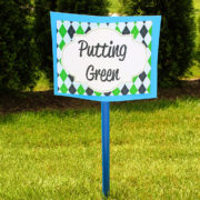 Putting Green Sign