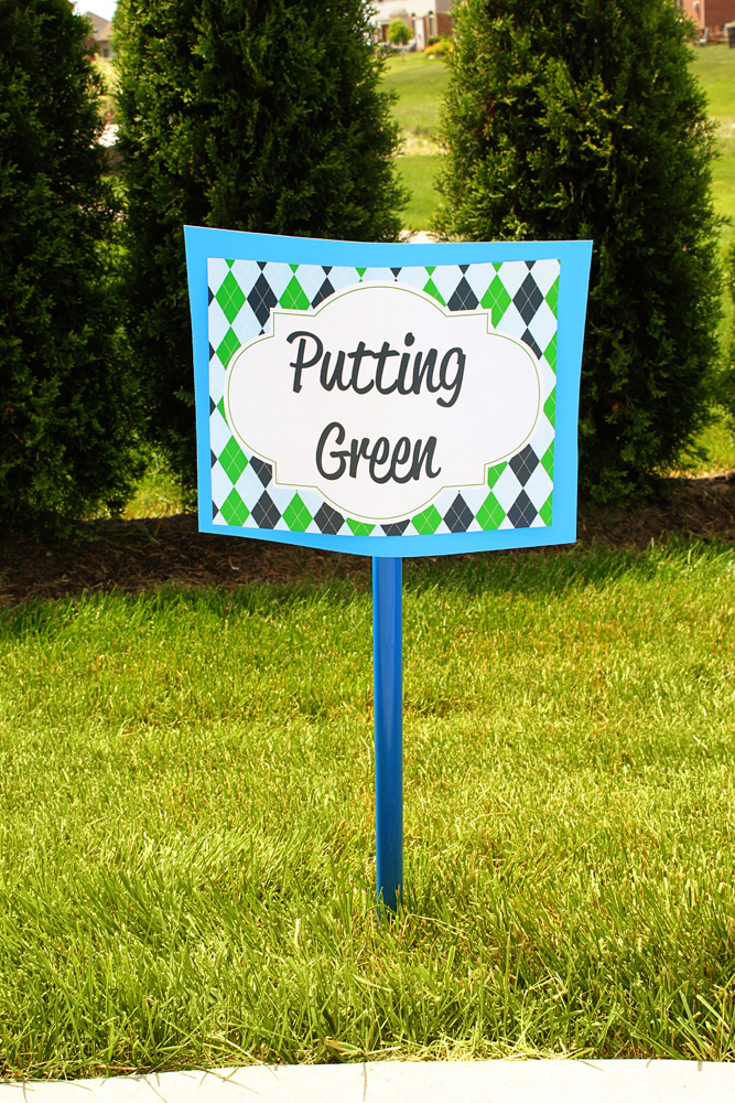 Golf Birthday Party Decorations — 505 Design, Inc