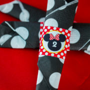 Red Minnie Mouse Napkin Ring