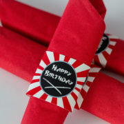 Ninja Party Napkin Ring