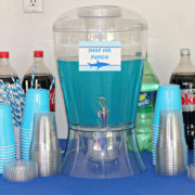 Shark Party Drink Station
