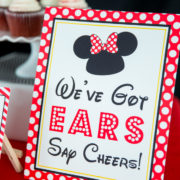We've Got Ears Say Cheers Sign