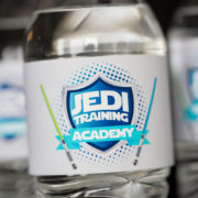 Star Wars Party Water Labels