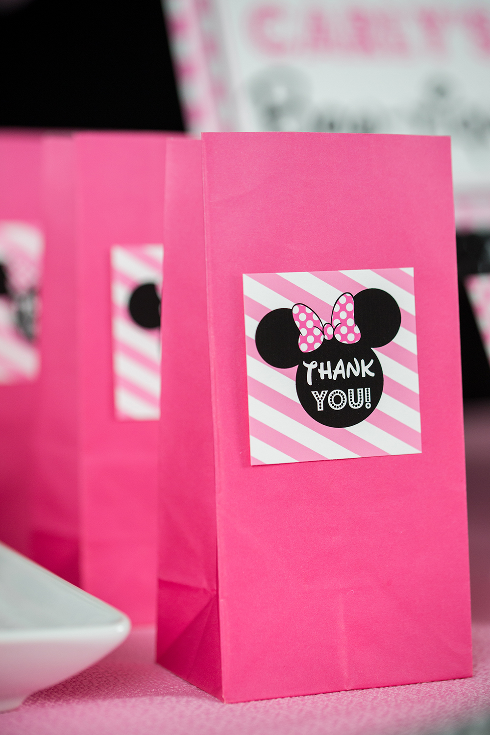 pink minnie mouse birthday party directions  u2014 505 design  inc