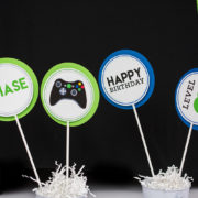 Video Game Party Centerpieces