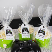 Video Game Party Favor Tag
