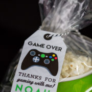 Video Game Party Favor Tag 5